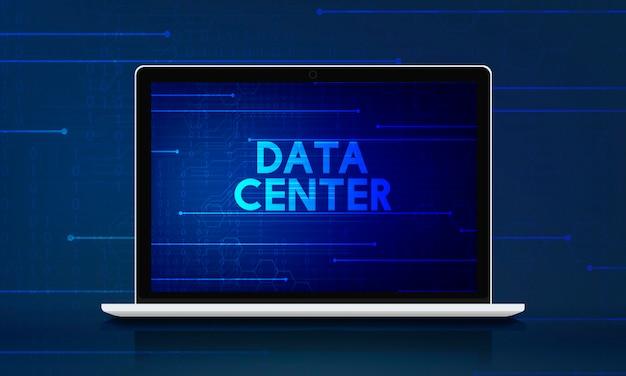 Informações do data center da rede de computadores