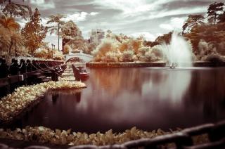 Infravermelho lago