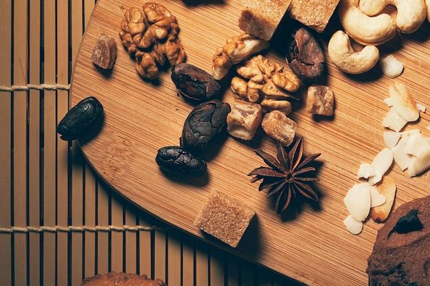 Ingredientes alimentares para pastelaria