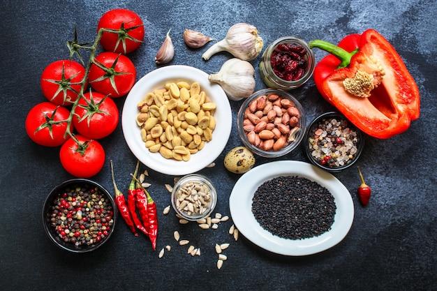 Ingredientes alimentares saudáveis