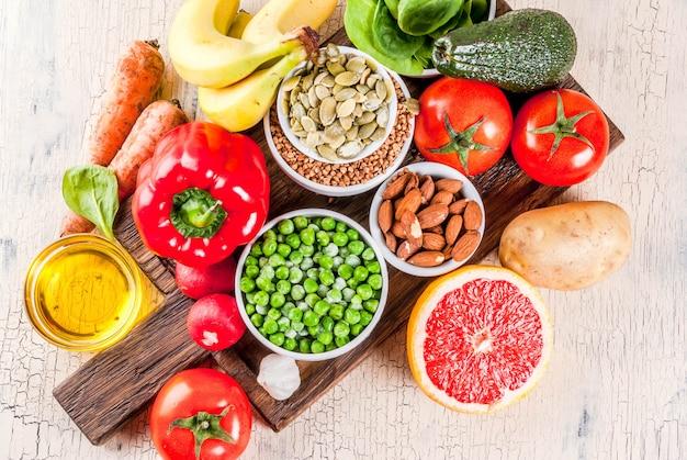 Ingredientes da dieta alcalina