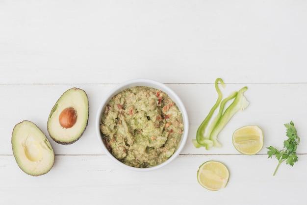 Ingredientes de guacamole