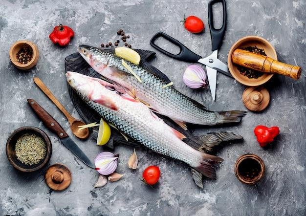 Ingredientes e culinária de peixe cru