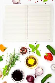 Ingredientes frescos para cozinhar
