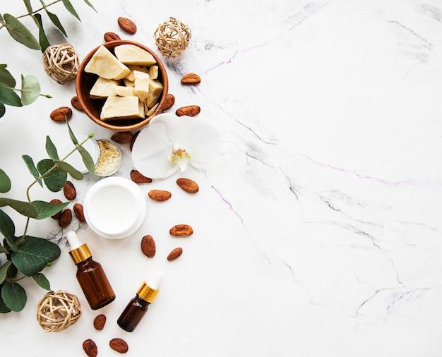 Ingredientes naturais spa