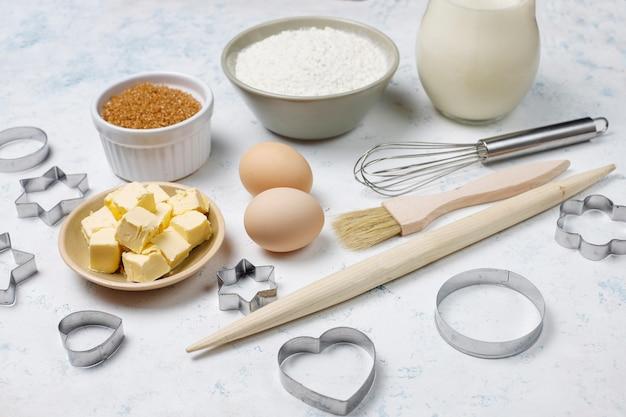 Ingredientes para assar