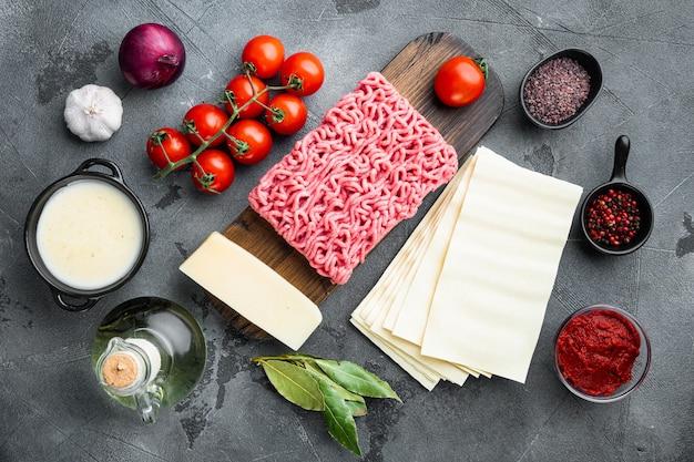 Ingredientes para fazer lasanha tradicional
