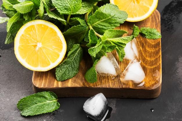 Ingredientes para limonada