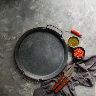 Ingredientes para o molho colombiano