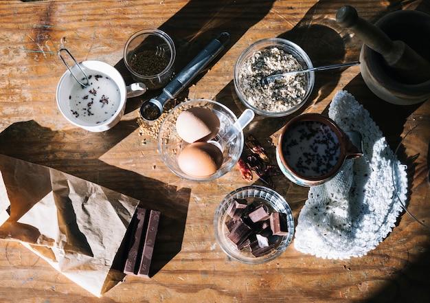Ingredientes para pastelaria
