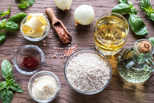 Ingredientes para risoto