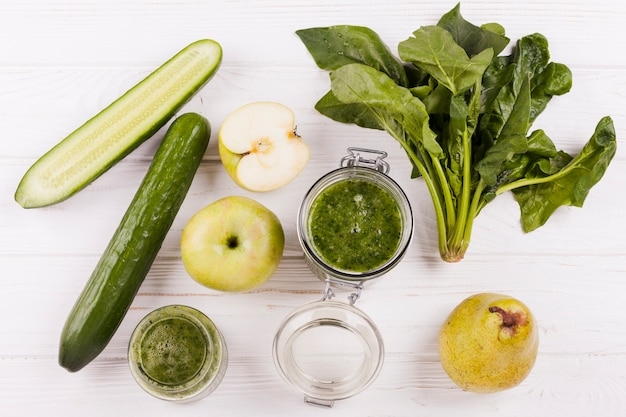 Ingredientes para smoothie útil