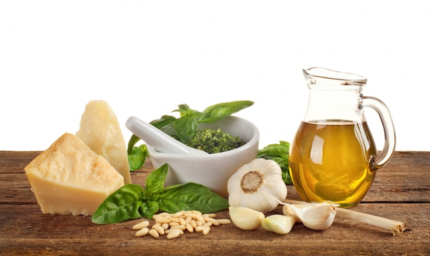 Ingredientes pesto genovese