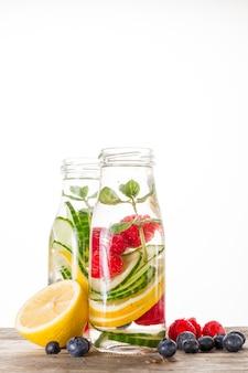 Ingredientes saudáveis smoothie