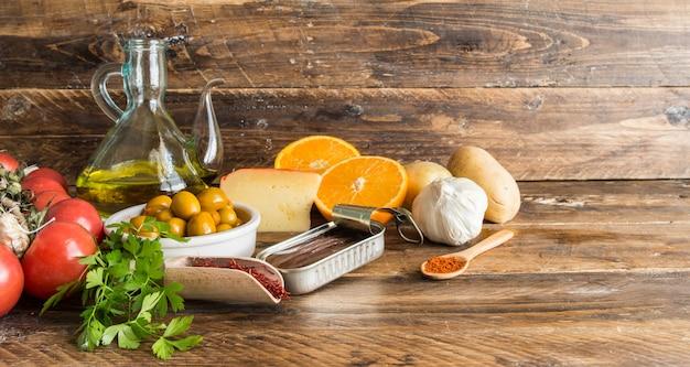 Ingredientes típicos da espanha