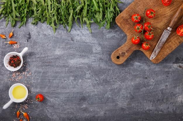 Ingredientes vegetarianos orgânicos