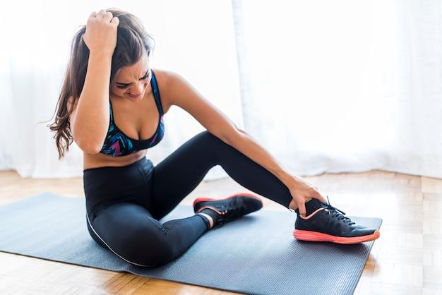 Iniciante fazendo exercício errado sem coacher