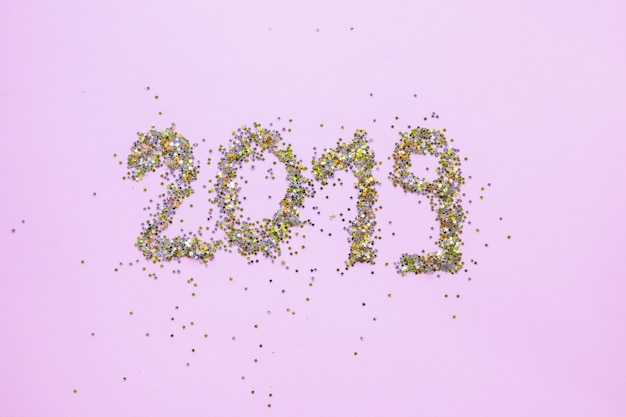 Inscrição 2019 no quadro branco