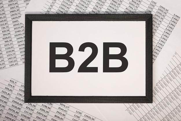 Inscrição de acrônimo b2b