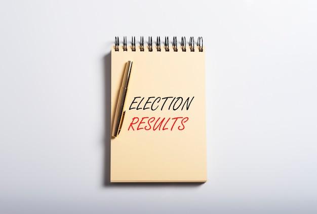 Inscrição de resultados eleitorais. recapitulação das pesquisas. visão geral da votação.