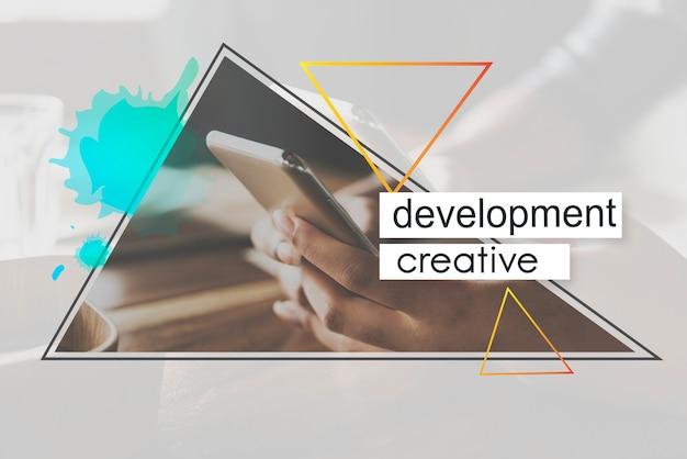 Inspiração desenvolvimento moderno criativo