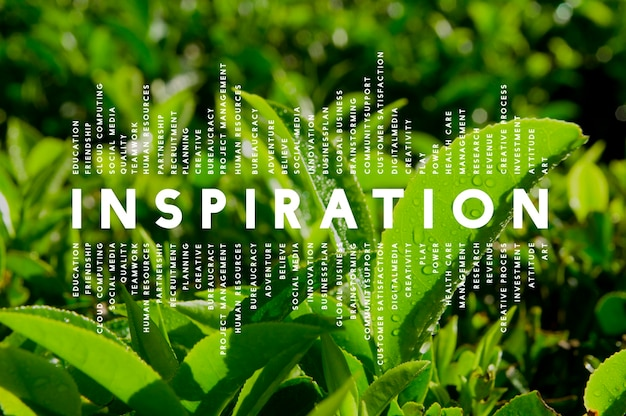 Inspiration dream imagination creative inspire concept