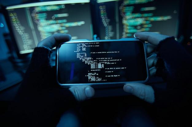 Instalando o software no telefone