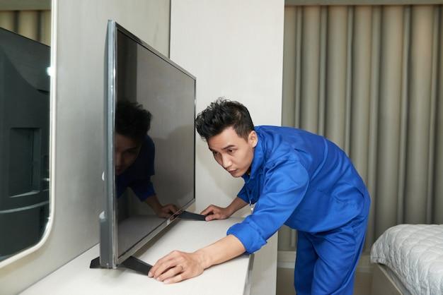 Instalando tv