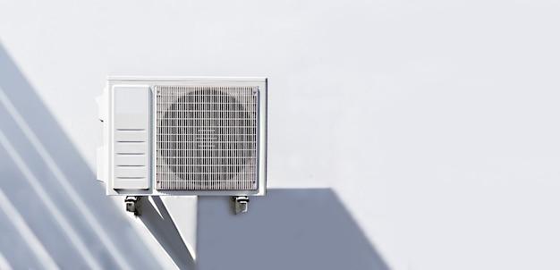 Instale um ar condicionado fora do prédio da fábrica