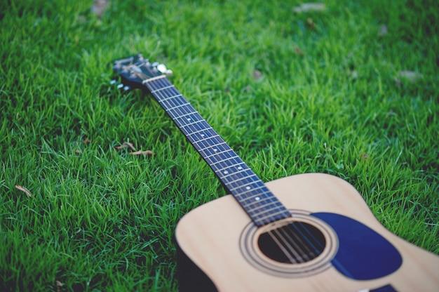 Instrumento de guitarra de guitarristas profissionais