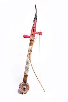 Instrumento musical egípcio de cordas, rababa