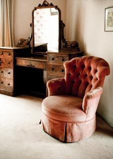 Interior à moda antiga