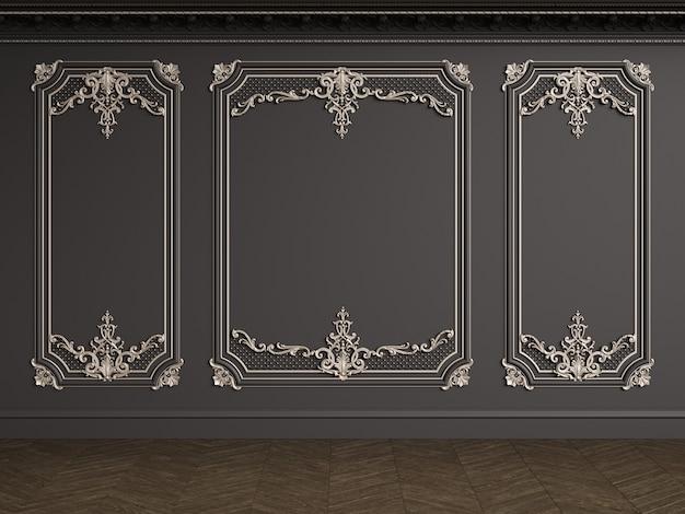 Interior clássico com espaço de cópia