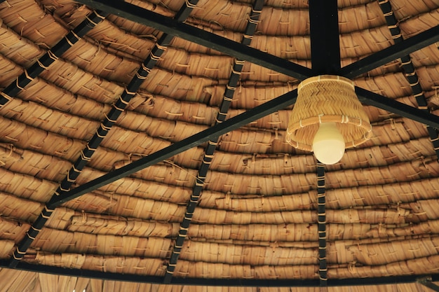 Interior da lâmpada