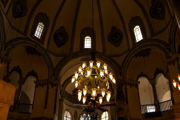 Interior da pequena hagia sophia. peru. istambul.