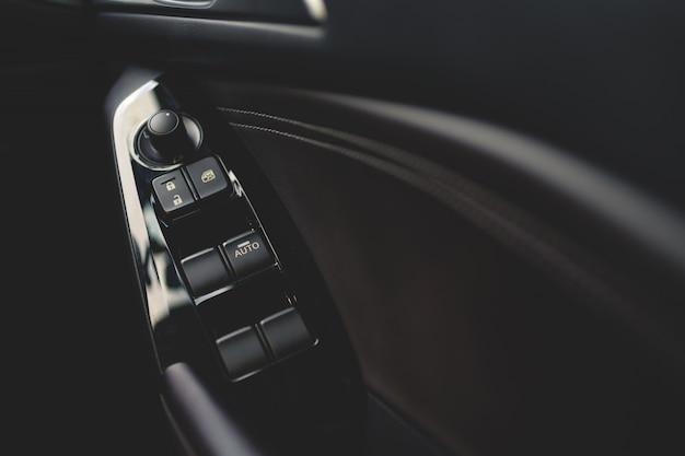 Interior de botões de carro