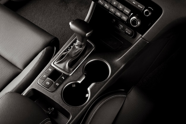 Interior de carro novo