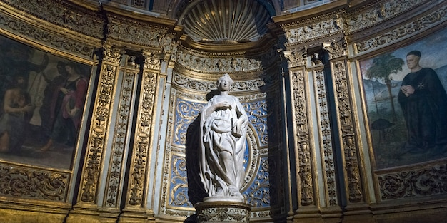 Interior, de, catedral siena, siena, tuscany, itália
