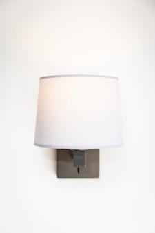 Interior de decoração de luz da lâmpada do quarto