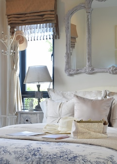 Interior de quarto de luxo
