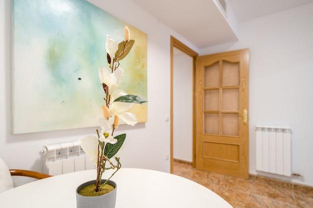 Interior de um apartamento moderno