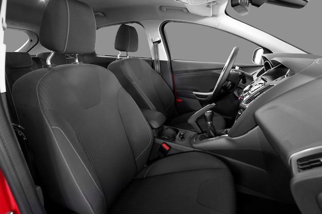Interior de um carro moderno