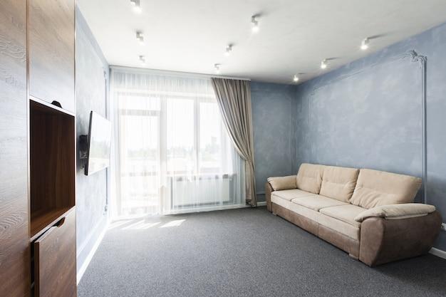 Interior, de, um, luxo, modernos, novo, hotel