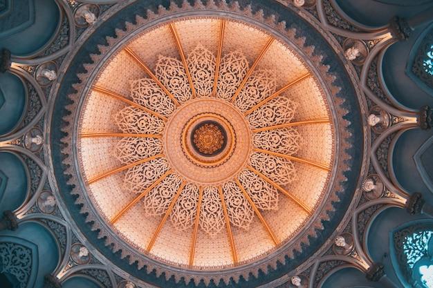 Interior do castelo de monserrate em sintra