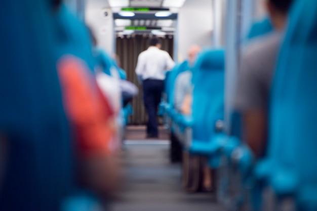Interior do comboio