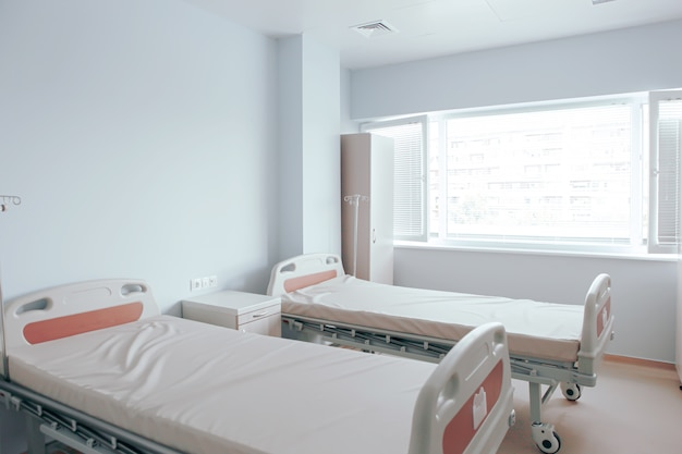 Interior do quarto de hospital