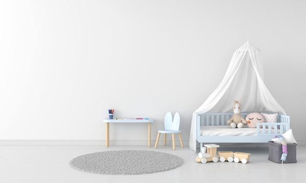 Interior do quarto infantil