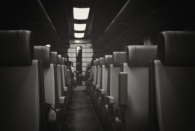 Interior do trem holandês