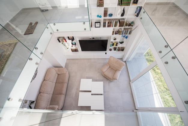 Interior moderno da casa nova