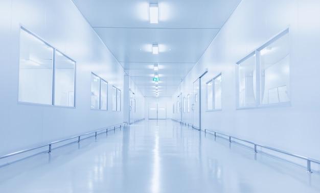 Interior moderno do laboratório de ciências